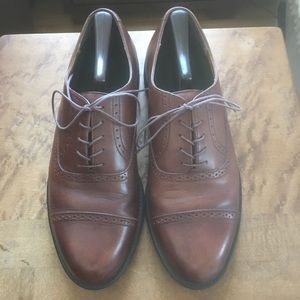 Rockport Brown Cap Toe Oxford Size 10.5
